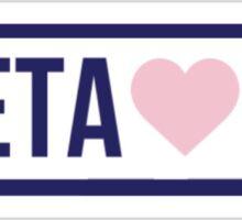 Brandy Melville Theta Phi Alpha Sticker