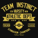 Team Insticnt Athletic Dept. by Crocktees