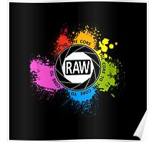 RAW To The Core! Poster