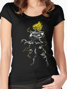 Super Saiyan Women's Fitted Scoop T-Shirt