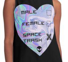 Gender is Space Trash Contrast Tank