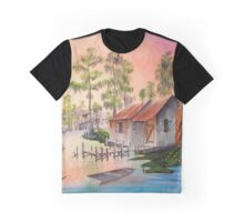 Bayou Blue Graphic T-Shirt