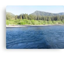 Pacific Northwest River Metal Print