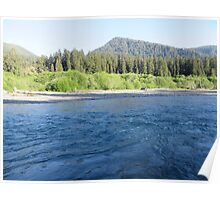 Pacific Northwest River Poster