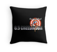 6.5 Creedmoor   Forum Logo Throw Pillow