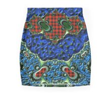 GALLIMAUFRY ~ Blue Satin by tasmanianartist Mini Skirt