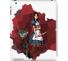 Alice Madness Returns And The Cheshire Cat iPad Case/Skin