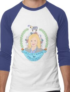 Leslie Knope Men's Baseball ¾ T-Shirt