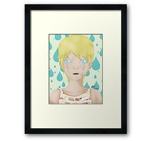 CRY BABY Framed Print