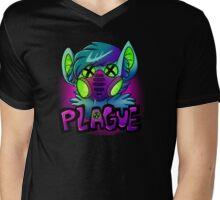 Plague Mens V-Neck T-Shirt
