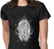 she was born of stardust v2 Womens Fitted T-Shirt