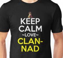 Keep Calm And Love Clannad Anime Manga Shirt Unisex T-Shirt
