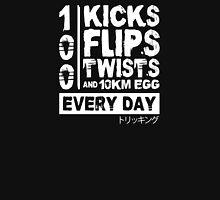 One Punch Man Training Regime Tricking Version Unisex T-Shirt