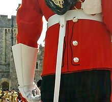 Guard, Windsor Castle by crashbangwallop