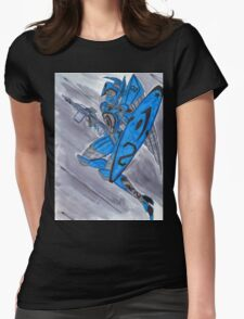 Blue Jay 02 Womens Fitted T-Shirt