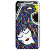 outsider art iPhone Case/Skin