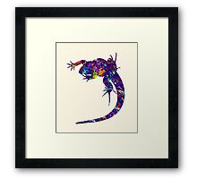 Colourful Lizard 2 Framed Print