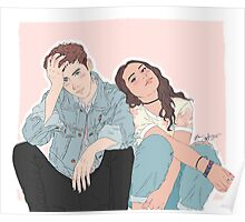 Troye Sivan and Alessia Cara Poster