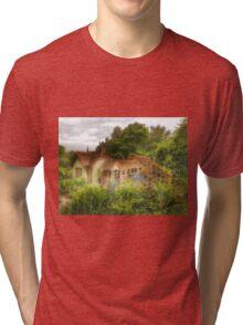 The Swiss Chalet Tri-blend T-Shirt