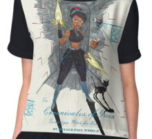 Bring it Comic Book Cover edition Chiffon Top