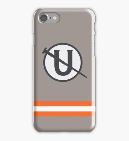 Holtzmann Screw U Necklace Ghostbusters iPhone Case/Skin