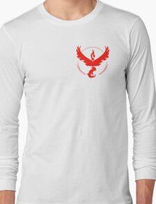 Team Valor Pokemon Go! Long Sleeve T-Shirt