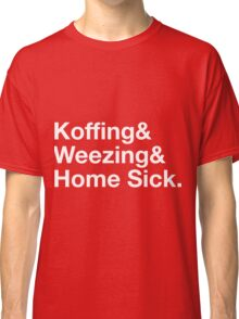 Stylish Pokemon T's | Koffing & Weezing & Home Sick | White on Dark Classic T-Shirt