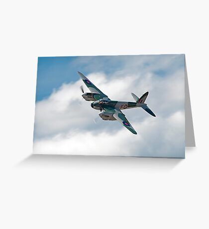 Royal Air Force De Havilland Mosquito Greeting Card