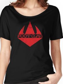 Foot Clan Women's Relaxed Fit T-Shirt