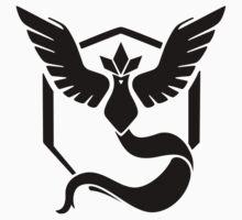 Pokémon Go: Team Mystic - black Baby Tee