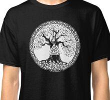 Yggdrasil - Odin's Sacrifice - Valknut Classic T-Shirt