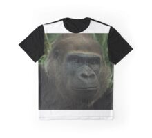 Gorilla Portrait - Melbourne Zoo Graphic T-Shirt