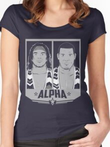 Alpha Americans Women's Fitted Scoop T-Shirt