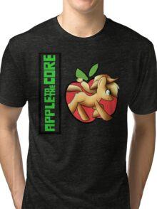 apple core Tri-blend T-Shirt