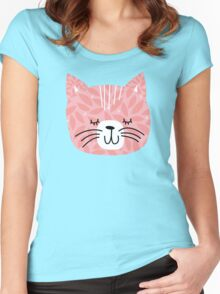 kittens in mittens Women's Fitted Scoop T-Shirt