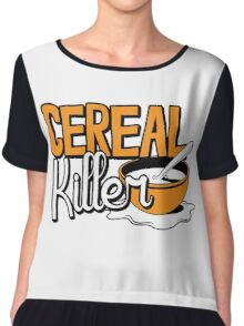 Cereal Killer Chiffon Top