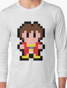 Pixel Alex Kidd Long Sleeve T-Shirt
