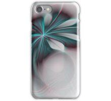 Aqua-Pink Apo Flower iPhone Case/Skin