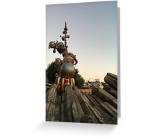 Blast off!  Greeting Card