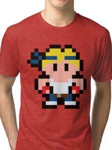 Pixel Axel Stone Tri-blend T-Shirt