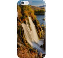 Fall Creek Falls, Swan Valley, Idaho iPhone Case/Skin