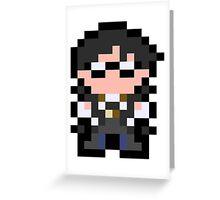 Pixel Bayonetta Greeting Card
