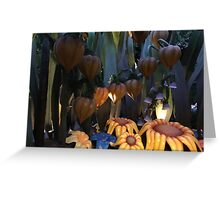 Sunflower seat Greeting Card