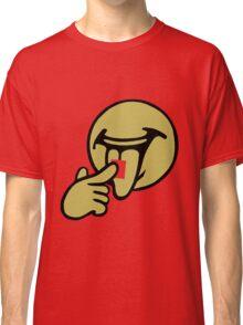 Smiley Tongue Classic T-Shirt