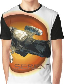Firefly - Serenity Spaceship Graphic T-Shirt