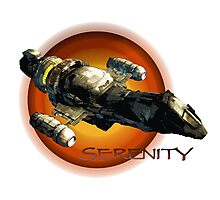 Firefly - Serenity Spaceship Photographic Print