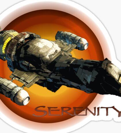 Firefly - Serenity Spaceship Sticker