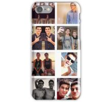 Jack Gilinsky Collage  iPhone Case/Skin