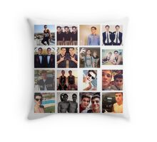 Jack Gilinsky Collage  Throw Pillow