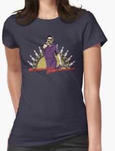 The Jesus Has Spoken! Womens Fitted T-Shirt